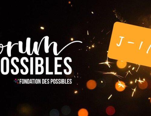 Forum des Possibles J-1 mois