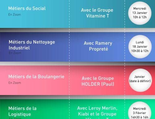 Calendrier – Les Rencontres Jeunes Entreprises Mars-Juin 2021